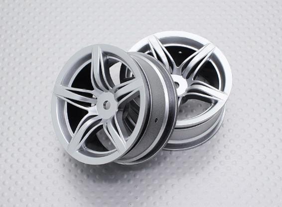 1:10 Echelle Touring Haute Qualité / Drift Roues RC 12mm Car Hex (2pc) CR-F12