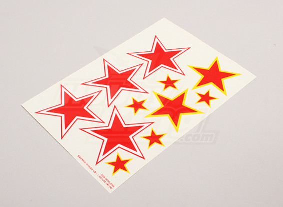 Échelle nationale Air Force Insignia Decal Sheet - URSS