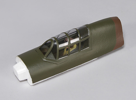 Hawker Hurricane Mk IIB 1000mm - Remplacement Canopy