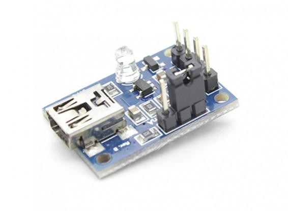 100-500mah LiPoly ou LiIon 1 Cellule Chargeur Micro USB