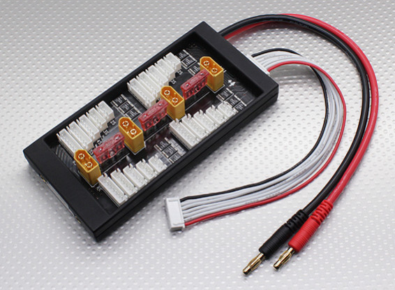 HobbyKing Safe 40A parallèle Conseil Charge pour 4 Packs 2 ~ 6S (XT60)