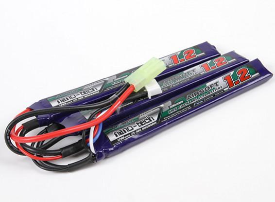Turnigy nano-tech 1200mAh 3S 25-50C Lipo AIRSOFT Paquet