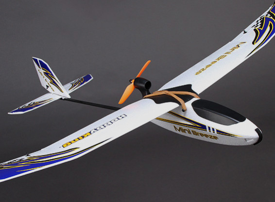 HobbyKing® ™ Mini Breeze Planeur OEB 900mm w / Moteur (ARF)