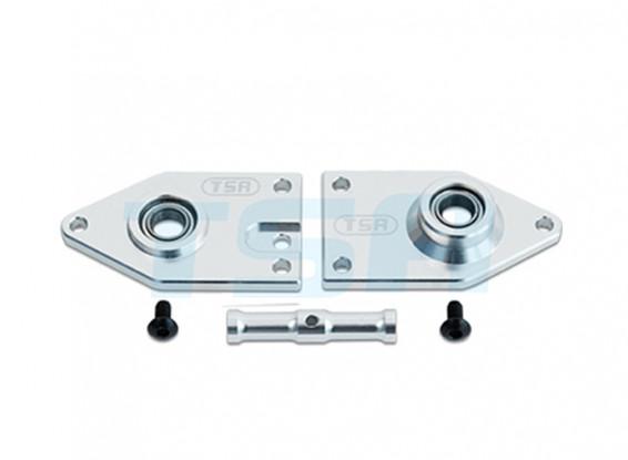 TSA Infusion 700E PRO, 700N PRO - Tail Plate Gearbox Side (Metal)