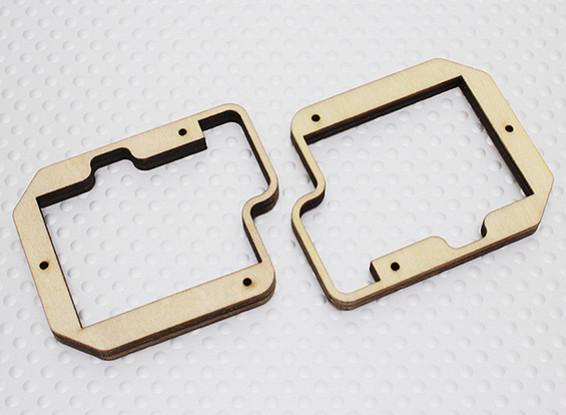 Turnigy Ply Mont Servo pour Slim Wing Servo - GTY-S712G (2pc)