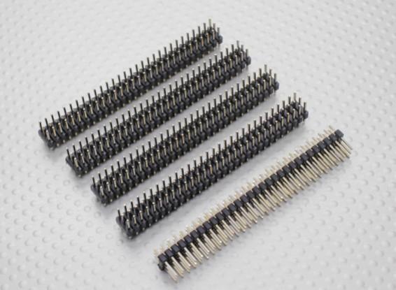 Épingle tête 30pin 3 Row 2,54 Emplacement (5PCS)