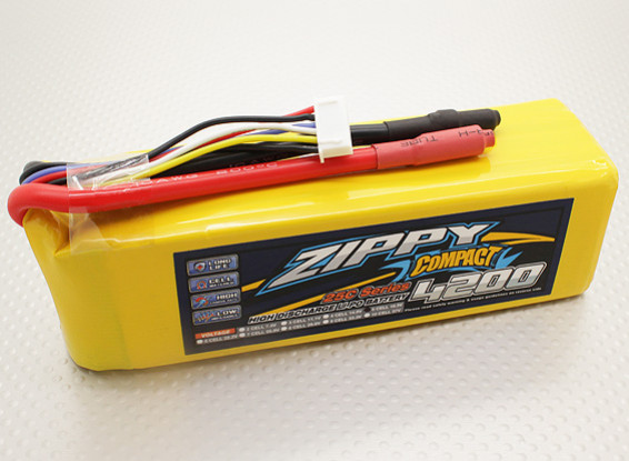 ZIPPY Compact 4200mAh 5S 25C Lipo Paquet