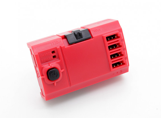 Outil d'installation Turnigy Servo Centering (Rouge)