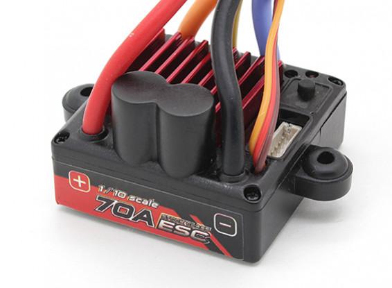 Turnigy TrackStar 1/10 70A Waterproof Car ESC (Sensored uniquement)