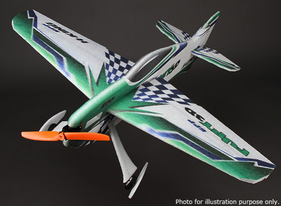 HobbyKing Fury 3D Voltige PPE Avion 800mm (ARF)