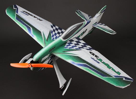 HobbyKing® ™ Fury 3D Voltige PPE Avion w / 800mm moteur (ARF)