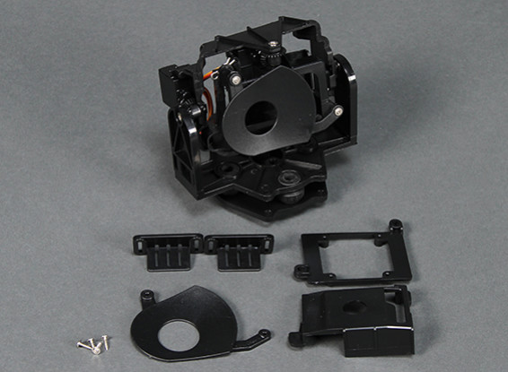 HobbyKing Go-Pro Caméra Gimbal avec Pan et Tilt (1pc)