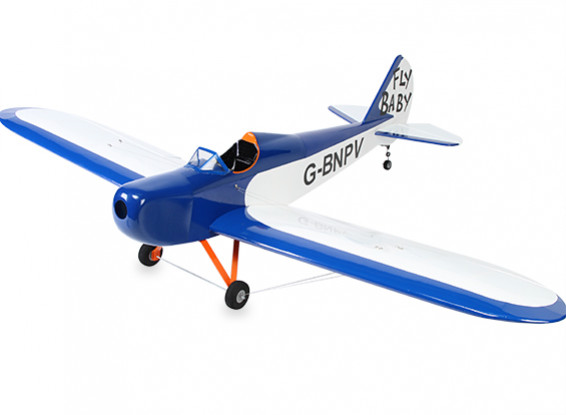 Fly bébé EP Homebuilt Avion Balsa 1350mm (ARF)