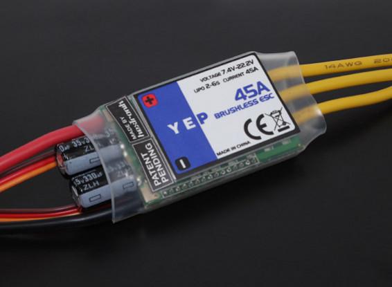HobbyKing YEP 45A (2-6S) SBEC Brushless Speed Controller V2