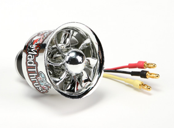 Dr Mad Thrust 40mm 8 Lame EDF Electroplated Version 7000kv / 3S