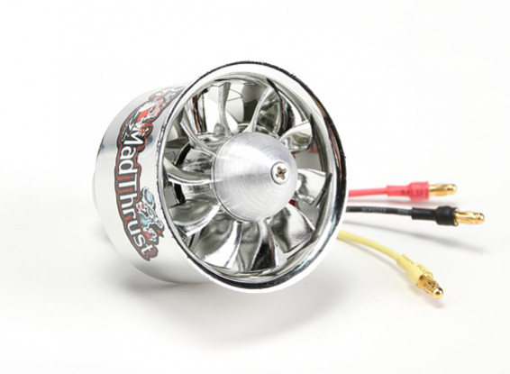 Dr. Mad Thrust 50mm 10 Lame EDF Electroplated Version 4200kv / 4S