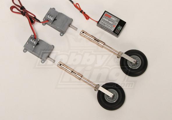 Servoless numérique Train d'atterrissage réglable set (Mise à niveau de métal)