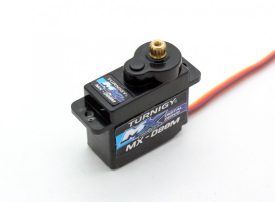 Turnigy ™ MX-D80M DS / 2 kg MG Servo / 0.10sec / 12g