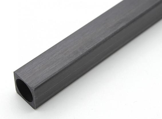 Tube en fibre de carbone carré 10 x 10 x 150mm
