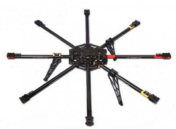 Cadre Tarot IRON MAN T1000 Octo-Copter en fibre de carbone (KIT) TL100B01