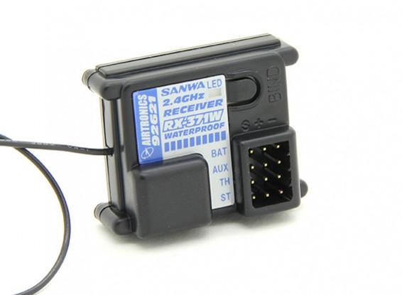 Sanwa / Airtronics RX-371W 2.4GHz FH-2 3CH Récepteur étanche
