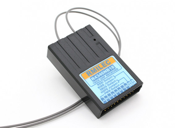 RMILEC R4346NB18 430-460Mhz 18CH LRS Receiver