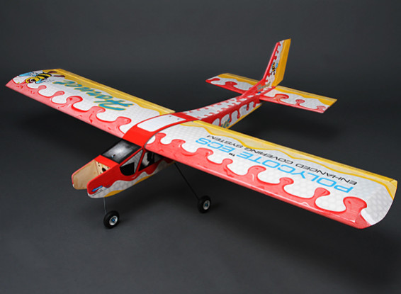 Hornet Salut-Wing formateur Balsa Glow / EP 1580mm (ARF)