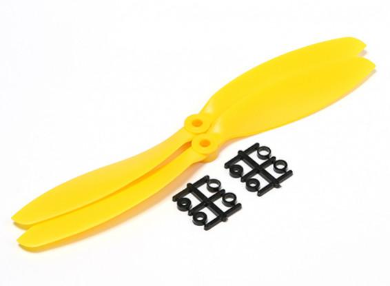 HobbyKing ™ Hélice 9x4.7 jaune (CW) (2pcs)