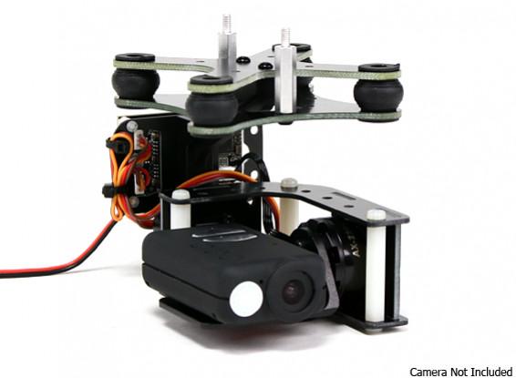 Turnigy Mobius 2-Axis Gimbal avec Tarot Controller et AX2206 Motors