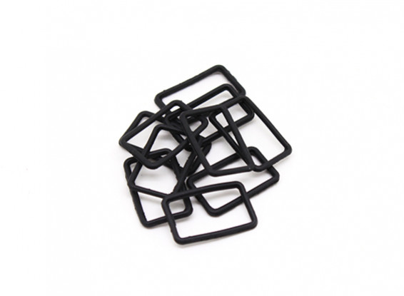 Fiche Seal Carré (10pcs) - BSR Racing BZ-222 1/10 2WD Racing Buggy