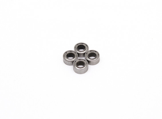 Balle 3x6x2.5mm Roulement (4pcs) - BSR Racing BZ-222 1/10 2WD Racing Buggy