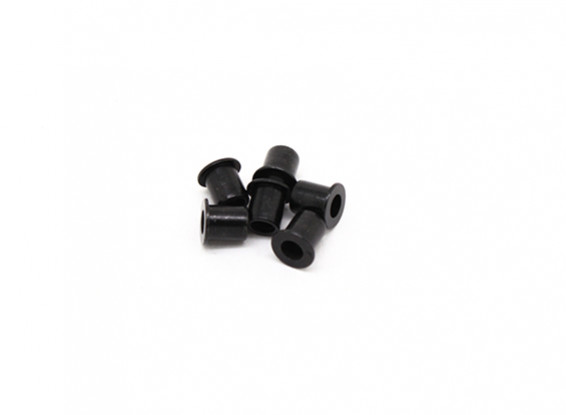 Bride manches Spacer (x6) - BSR Racing BZ-222 1/10 2WD Racing Buggy