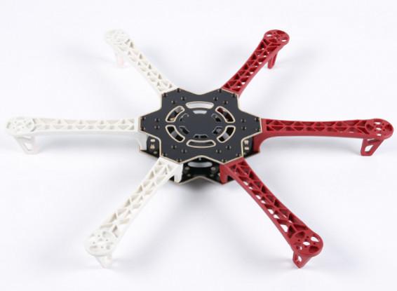 H500 V3 en fibre de verre Hexacopter Cadre 500mm - intégré PCB Version