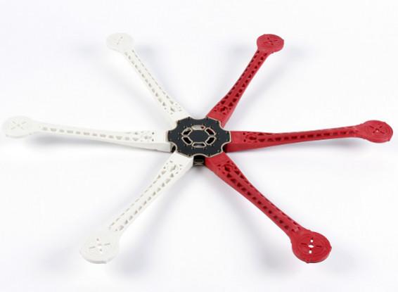 H680 V3 en fibre de verre Hexacopter Cadre 680mm - intégré PCB Version