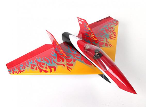 Delta Rocket High Speed Wing - Red 640mm (ARF)