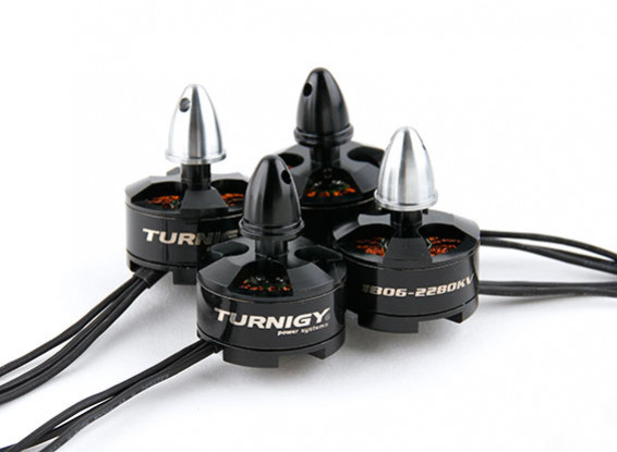 Turnigy 250 taille 1806-2280kv (Set Of 4 CW / CCW)
