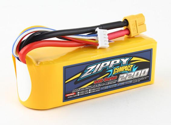 ZIPPY Compact 2200mAh 4s 60c Lipo Paquet