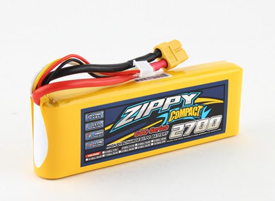ZIPPY Compact 2700mAh 3s 60c Lipo Paquet
