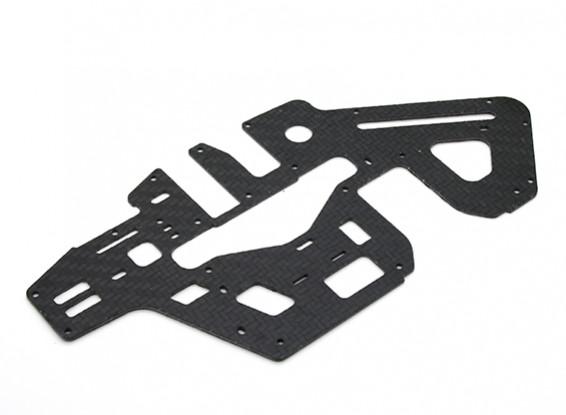 Tarot 450 PRO V2 Plate Carbon Fiber principal cadre latéral (1.2mm) - (TL45028A)
