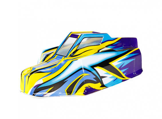 Painted Body Shell - BSR Racing BZ-888 1/8 4WD Racing Buggy