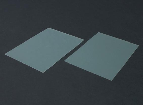 Fiche FR4 Epoxy Verre 210 x 148 x 0.8mm (2pc)