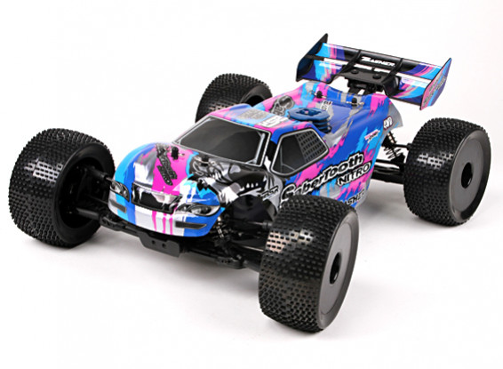 Basher SaberTooth 1/8 Scale Nitro Truggy (RTR)