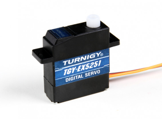 Turnigy ™ TGY- EX5251 Double roulement DS Micro Servo 2,2 kg / 0.10sec /10.5g
