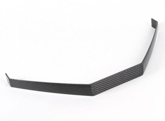 Fixe en fibre de carbone Landing Gear Pour 260mm Fuselage Largeur (1pc)