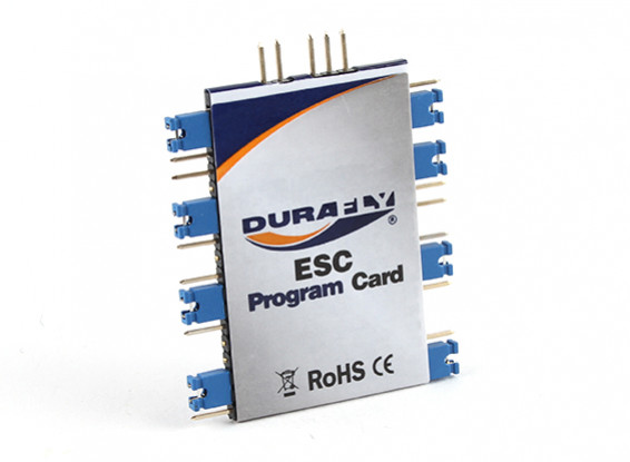 Durafly ESC Programmation Card