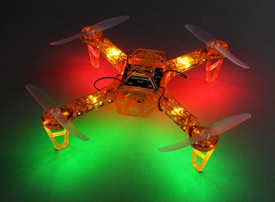 HobbyKing FPV250 V4 orange fantôme édition LED Night Flyer FPV Quad Copter (Orange) (Kit)