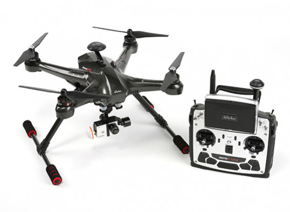 Walkera Scout X4 FPV Quadcopter avec F12E, Bluetooth Datalink, G-3D, iLookplus (Ready To Fly)