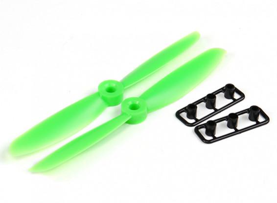 Gemfan Hélice 5x4.5 Green (CW / CCW) (2pcs)