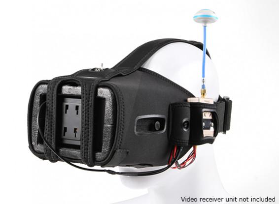 Quanum DIY FPV Goggle V2 w / écran LCD de 5 pouces (Kit)