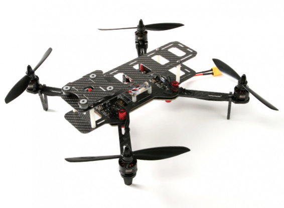DYS 320 Full Carbon Fiber Quadcopter pliant avec étui de rangement (PNF)